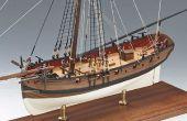 Wie man ein Holzschiff Kit Modell?