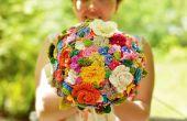 Ihre Hochzeit Bouquet häkeln