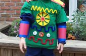 Space Roboter Kinder Halloween-Kostüm - (Ganzkörper)