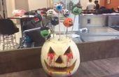 Pops zu erschrecken! Halloween-Kuchen pops)