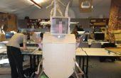 Wie erstelle ich eine geschlitzte Karton Hummer Kostüm