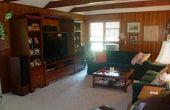 Für Holzverkleidungen (Familienzimmer Renovierung)