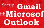 Gewusst wie: hinzufügen Google Mail-Konto in Microsoft Outlook