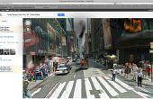 Apokalyptische Landschaft auf Google Streetview