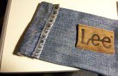 Alte Jeans Pencil Case
