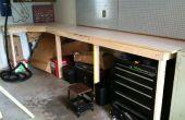 Einfache und günstige Garage Workbench