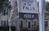 Familie Halloween Anzeige