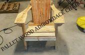 Adirondack Stuhl aus Palettenholz