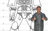 Lifesize Space Marine Rüstung in 352 furchtbar komplizierte Schritte bauen