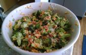 Broccoli-Salat mit Speck