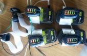 Powertool Akkus als generische Stromversorgung für andere Projekte mit