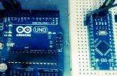 Arduino Nano über Uno mit ICSP programmieren