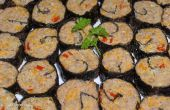 Rindfleisch Bites (Mock Sushi)