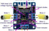 L298N Motor-Treiber-Controller-Board