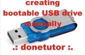 Wie erstelle ich einen bootfähigen USB-Laufwerk ohne Verwendung von Software