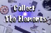 Starten Sie eine Element Sammlung - Proben an alltäglichen Orten finden