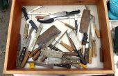 Wiederherstellung der alten Küchenmesser