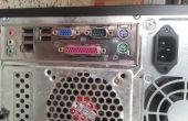 PC an einen HD-Fernseher anschließt