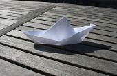 Eine schwimmende Boot aus Papier zu machen