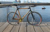 Aufbau einer Carbon-Faser-Bambus-Fahrrad von Grund auf