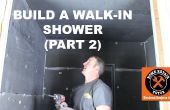 Gewusst wie: erstellen eine begehbare Dusche (Teil 2: Wedi Wandmontage)