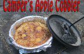 Camper im freien Apple Cobbler