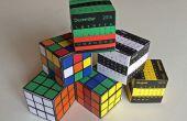 Die erstaunliche Papierkasten Puzzle: Rubiks Cube oder Kalender