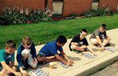 Kinder Solar Wasser Heizung