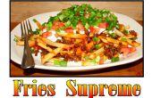 Wie man Pommes frites Supreme