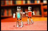 Tanzen, magnetische Roboter