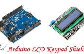 Arduino LCD-Bedienteil Schild