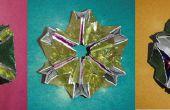 Papierspielzeug Kaleidoskop Tasche