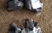 Trash Bag Pom Poms