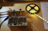 LED-Streifen-Steuerung mit Dimmer und pulsierenden Audioschaltungen