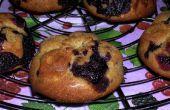 Vollkornbrot Dinkel Heidelbeere Frühstück Muffins!