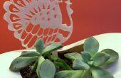 3D-gedruckten Thanksgiving Pfahl Dekoration aus 2D Bild mit Tinkercad