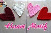 Herz-Motiv-Applikationen – kostenlose Häkelanleitung häkeln