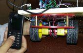 Mobile Roboter-Auto mit Arduino und DTMF gesteuert