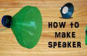 Wie erstelle ich Lautsprecher mit Kunststoff-Flasche einfachen & einfache DIY