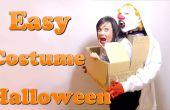 Ein Monster trägt dich. Das beste Kostüm DIY Last-Minute #Halloween