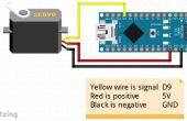 Servo-Motor mit Arduino Nano fegen