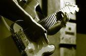 Wie zu spielen 3 einfachen Akkorden auf der Gitarre