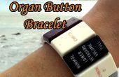 Macht ein Retro-Orgel Button Armband - das Organ Donor Projektteil 4