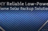 DIY-zuverlässige Low-Power-Home Solar-Backup-Lösung