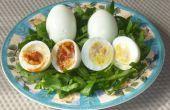 Gefüllten Eiern (kein Eigelb)