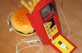 Pommes-frites Telefon + Ipod = Braten-Pod