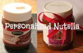 Personalisierte Nutella