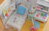 DIY Miniatur Puppenhaus Schlafzimmer