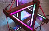 Interaktive led-Lampe | Tensegrity Struktur + Arduino