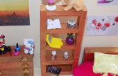 DIY-LPS Mädchen Miniatur Puppenhaus Schlafzimmer